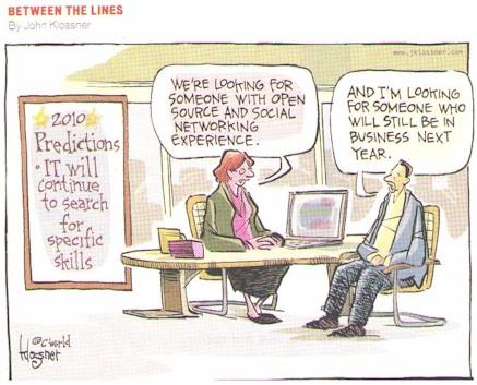 Computer World's Between the Lines by John Klosser