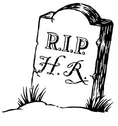 RIP HR